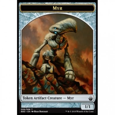 Tokens Magic Magic the Gathering Jeton - Battlebond- (06/8) Myr