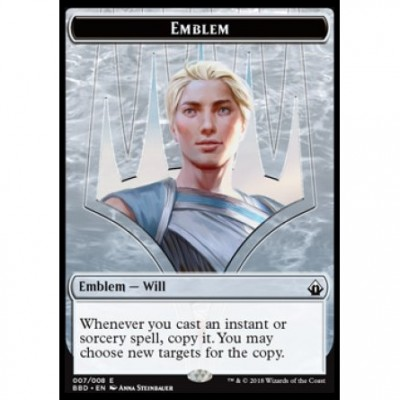Tokens Magic Magic the Gathering Jeton - Battlebond- (07/8) Emblem Will Kenrith