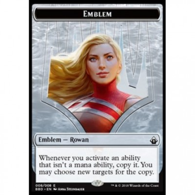 Tokens Magic Accessoires Pour Cartes Jeton - Battlebond- (08/8) Emblem Rowan Kenrith