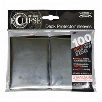 Protèges Cartes  100 pochettes - Eclipse - Jet Black