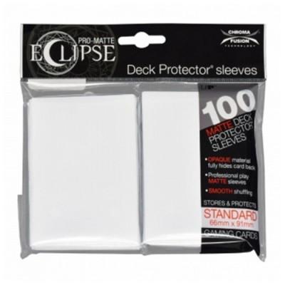 Protèges Cartes 100 pochettes - Deck Protector - Pro Matte Eclipse - Arctic White