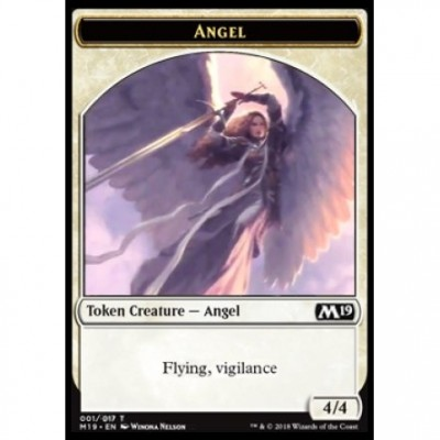 Tokens Magic Magic the Gathering Jeton - Edition de Base 2019- (01/17) Ange