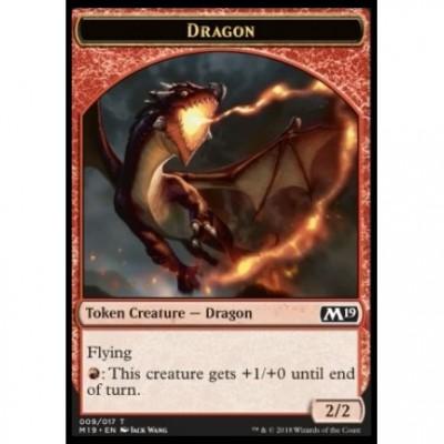 Tokens Magic Jeton - Edition de Base 2019- (09/17) Dragon