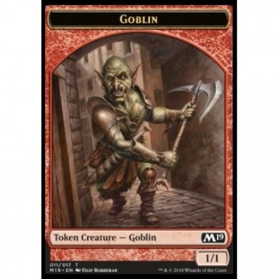 Tokens Magic Magic the Gathering Jeton - Edition de Base 2019- (11/17) Gobelin