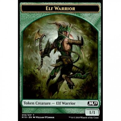 Tokens Magic Jeton - Edition de Base 2019- (13/17) Elfe et Guerrier
