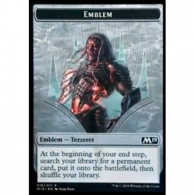 Tokens Magic Magic the Gathering Jeton - Edition de Base 2019- (16/17) Emblème Tezzeret