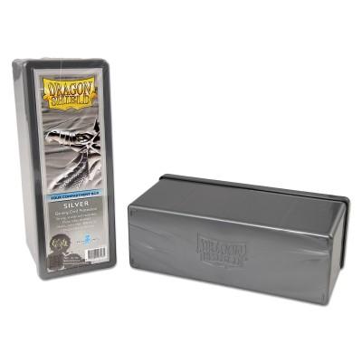 Boites de Rangements Accessoires Pour Cartes 4 Compartiments - Silver