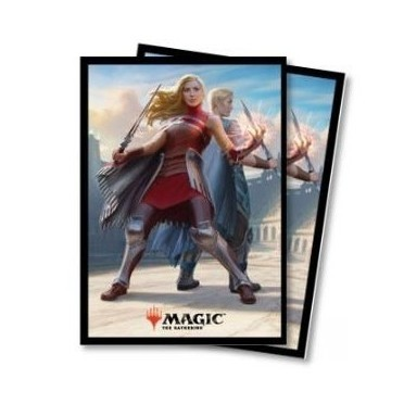 Protèges Cartes illustrées Magic the Gathering Battlebond - 80 Pochettes - Rowan