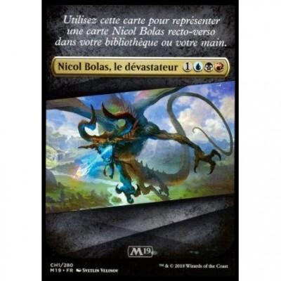 Tokens Magic Accessoires Pour Cartes Token/Jeton - Magic 2019 - Nicol Bolas - Checklist