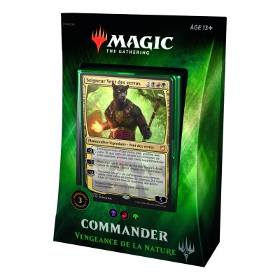 Decks Préconstruits Magic the Gathering Commander 2018 - Vengeance de la Nature
