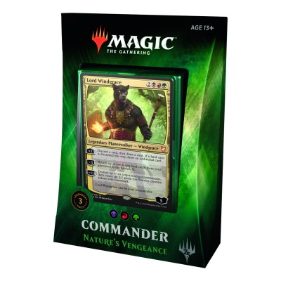 Decks Préconstruits Magic the Gathering Commander 2018 - Nature's Vengeance