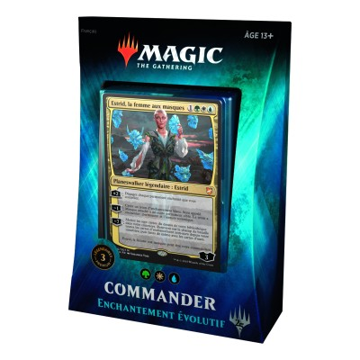 Decks Préconstruits Magic the Gathering Commander 2018 - Enchantement évolutif
