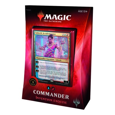 Decks Préconstruits Magic the Gathering Commander 2018 - Invention Exquise