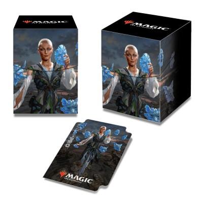 Boites de rangement illustrées Accessoires Pour Cartes Commander 2018 - Deck Box 100+ - Estrid, la femme aux masques