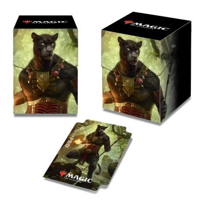 Boites de rangement illustrées Accessoires Pour Cartes Commander 2018 - Deck Box 100+ - Seigneur Vent des vertus