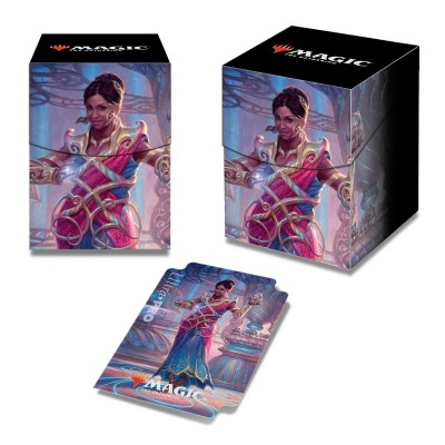 Boites de rangement illustrées Accessoires Pour Cartes Commander 2018 - Deck Box 100+ - Saheeli, la talentueuse