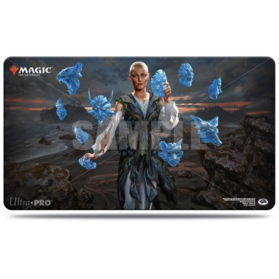 Tapis de Jeu Magic the Gathering Commander 2018 - Playmat - Estrid, la femme aux masques