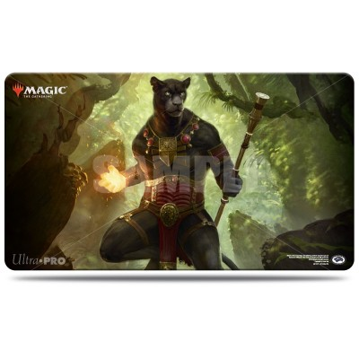 Tapis de Jeu Magic the Gathering Commander 2018 - Playmat - Seigneur vent des vertus