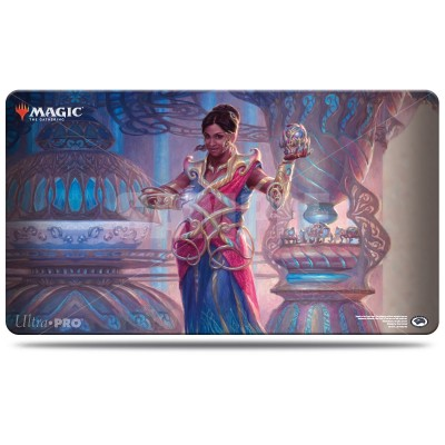 Tapis de Jeu Magic the Gathering Commander 2018 - Playmat - Saheeli, la talentueuse