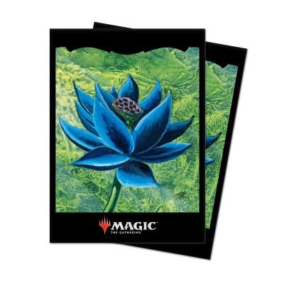 Protèges Cartes illustrées Accessoires Pour Cartes 100 Pochettes - Black Lotus
