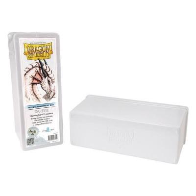 Boites de Rangements Accessoires Pour Cartes 4 Compartiments - Blanc