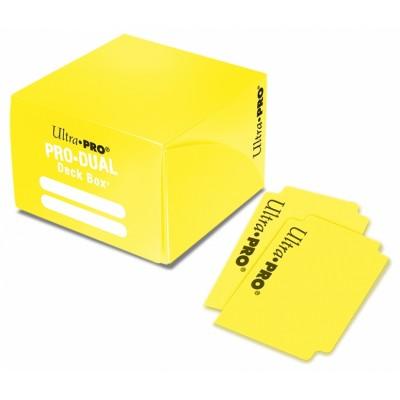 Boites de Rangements Accessoires Pour Cartes Pro Dual 180 - Jaune