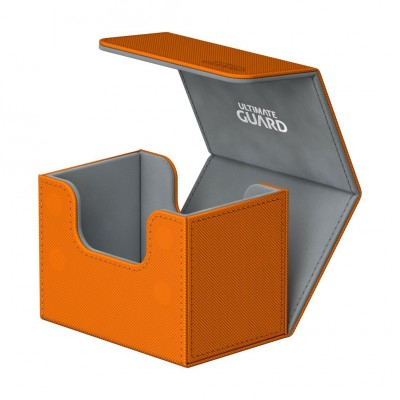 Boites de Rangements Accessoires Pour Cartes Deck Box - Skin - Orange - Sidewinder 80
