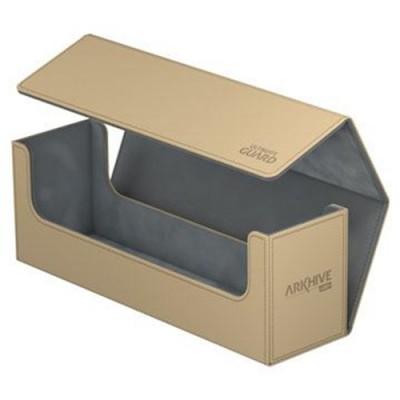 Boites de Rangements Accessoires Pour Cartes Deck Box - ArkHive Flip Case XenoSkin 400 - Sable