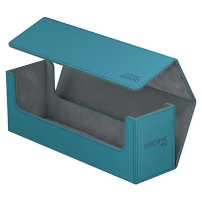 Boites de Rangements Accessoires Pour Cartes Deck Box - ArkHive Flip Case XenoSkin 400 - Petrole