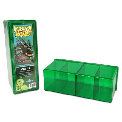 Boites de Rangements Accessoires Pour Cartes 4 Compartiments - Vert