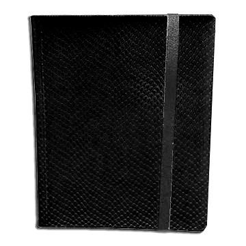 Classeurs et Portfolios  Binder - Dragon Hide - 9 Cases - Black