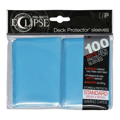Protèges Cartes Accessoires Pour Cartes 100 pochettes - Deck Protector - Pro Matte Eclipse - Sky Blue