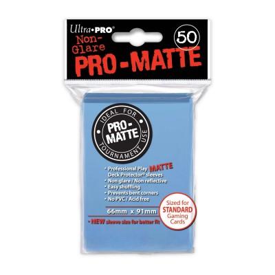 Protèges Cartes  50 pochettes - Pro Matte - Light Blue
