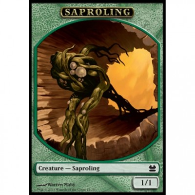 Tokens Magic Magic the Gathering Token/Jeton - Modern Masters - 12/16 Saprobionte