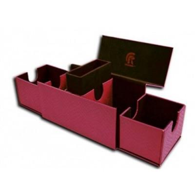 Boites de Rangements Accessoires Pour Cartes Deck Box - Dragon Hide - Vault V2 - Pink