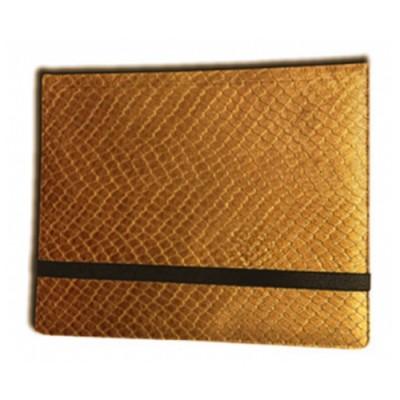 Classeurs et Portfolios Accessoires Pour Cartes Binder - Dragon Hide - 8 Cases - Gold