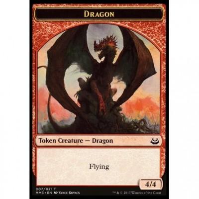 Tokens Magic Token/Jeton - Modern Masters 2017 - 07/21 Dragon