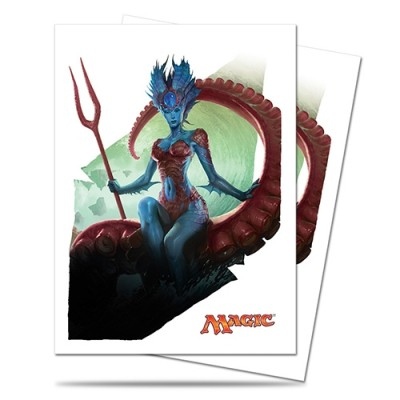 Protèges Cartes illustrées  Battle For Zendikar - 80 Pochettes - Kiora