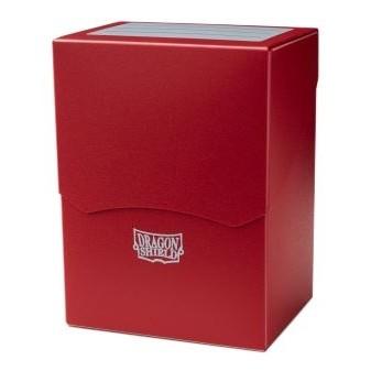 Boites de Rangements Accessoires Pour Cartes Deck Shell - Rouge