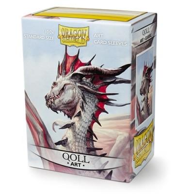Protèges Cartes illustrées  100 pochettes - Qoll