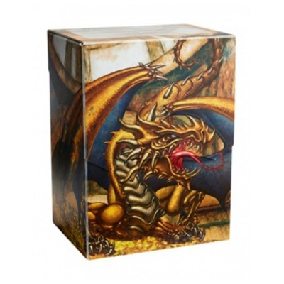 Boites de rangement illustrées Accessoires Pour Cartes Deck Box - Gold