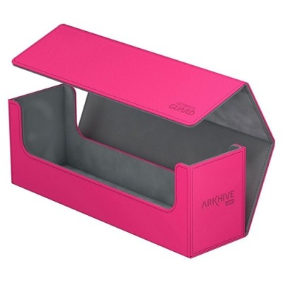 Boites de Rangements Accessoires Pour Cartes Deck Box - ArkHive Flip Case XenoSkin 400 - Rose