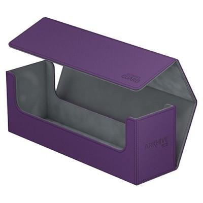 Boites de Rangements Accessoires Pour Cartes Deck Box - ArkHive Flip Case XenoSkin 400 - Violet