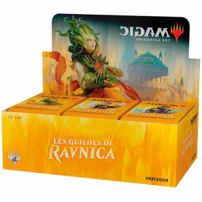 Boite de Boosters Magic the Gathering Les Guildes de Ravnica - 36 Boosters de draft