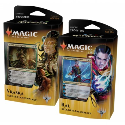 Decks Magic the Gathering Les Guildes de Ravnica - Deck de Planeswalker - Lot de 2