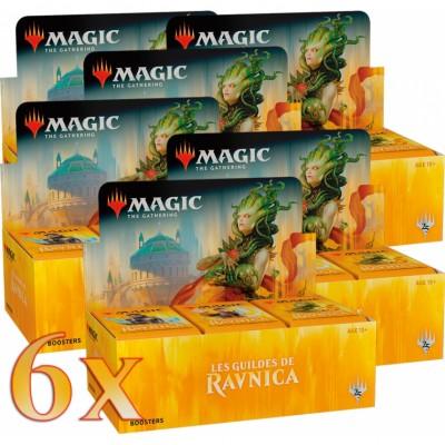 Boites de Boosters Magic the Gathering Les Guildes de Ravnica - Lot de 6