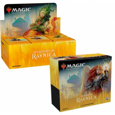 Offres Spéciales Magic the Gathering Les Guildes de Ravnica - Small Pack : Boite VF + Bundle VO