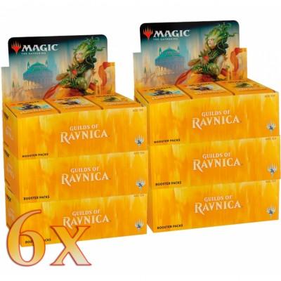 Boites de Boosters Magic the Gathering Guilds of Ravnica - Lot de 6