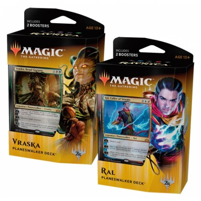 Decks Magic the Gathering Guilds of Ravnica - Deck de Planeswalker - Lot de 2