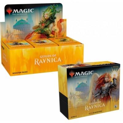 Offres Spéciales Magic the Gathering Les Guildes de Ravnica - Small Pack : Boite VO + Bundle VO